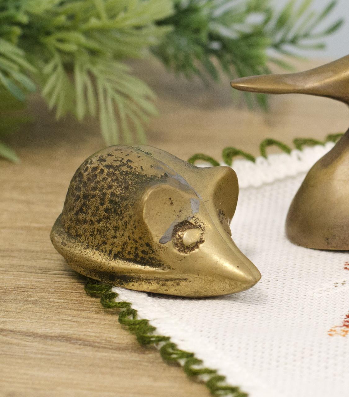 Колекційна мініатюра,бронзова миша, бронза, Німеччина