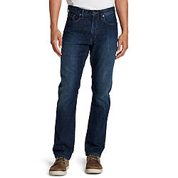 Джинсы Eddie Bauer Mens Flex Jeans Slim Fit RIVER ROCK 32-32 Синие 792-0109RVRK-32 W 32 L, КОД: 271111