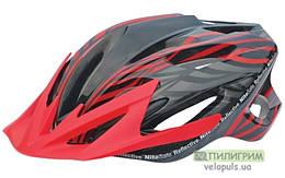 Шлем - Spelli SBH-5900 L (59-65 см.), Красно-черный