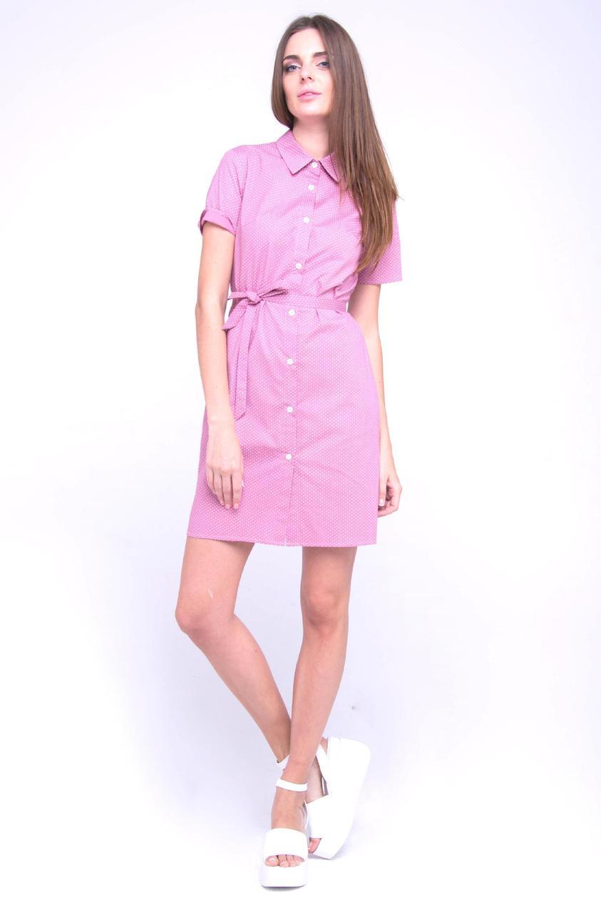 ba06eb1891f Платье-рубашка VMMA S Розовый PL-1831-S