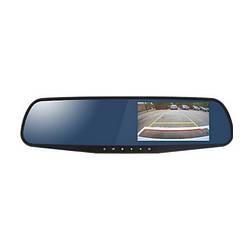Зеркало заднего вида с двухканальным HD видеорегистратором Stealth DVR ST 120 1280x720 (23192)