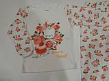 Пижама для девочки интерлок р.110 Пр-во Турция, фото 2