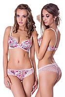 Комплект бюстгальтер и трусики бразилиана Dimanche Lingerie 70CS Розовый микс 42145-24461-563, КОД: 294716