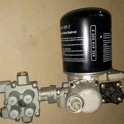 Влагоотделитель (осушитель, влагомаслоотделитель) воздуха в сборе FAW CA3252, фото 2