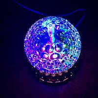 Вращающаяся диско лампа Led full color rotating lamp светодиодная, фото 1