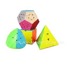 Набор кубиков Рубика QiYi Gift box Пирамидка, Мегаминкс, Скюб, Сваер