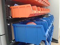 Стеллаж АТМ1 (9 шт ящиков №703, 9 шт ящиков №702 и 6 шт ящиков 701) минимальная комплектация. Цветные ящики
