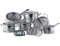 Набор посуды для индукции Vinzer винзер UNIVERSUM 14 предметов