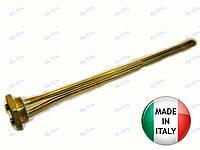 Тэн в чугунную батарею медный 3,0 кВт / 220В правая резьба производство Италия Thermowatt