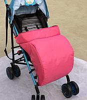 Чехол для ног на прогулочную коляску Розовый (05120)