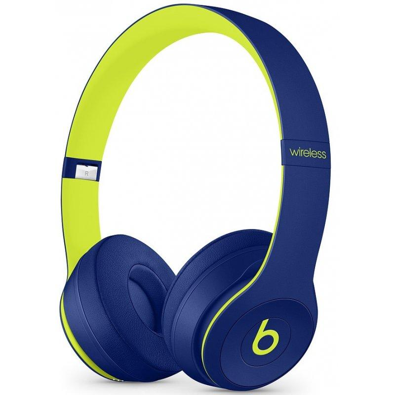 Beats Solo3 Wireless On-Ear Pop Collection Pop Indigo