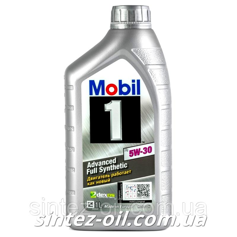 Моторное масло Mobil 1 5W-30 (1л)