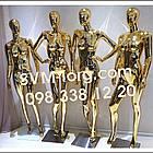 Манекен женский золотой Эксклюзивный, фото 3