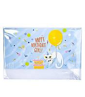"""Открытка для денег """"Happy Birthday girl!"""""""