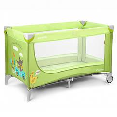 Детский манеж Carrello Piccolo CRL-7303 Зеленый 10-15-CRL-7303, КОД: 286661