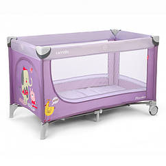 Детский манеж Carrello Piccolo CRL-7303 Фиолетовый 10-16-CRL-7303, КОД: 286660