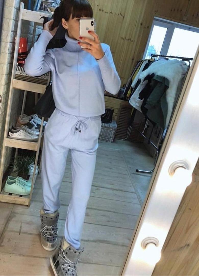 Женский прогулочный костюм с карманами