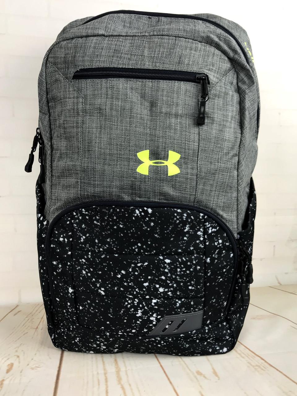 Якісний рюкзак Under Armour. Спортивний рюкзак. Стильні рюкзаки. Якісні рюкзаки.