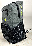 Якісний рюкзак Under Armour. Спортивний рюкзак. Стильні рюкзаки. Якісні рюкзаки., фото 4