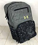 Якісний рюкзак Under Armour. Спортивний рюкзак. Стильні рюкзаки. Якісні рюкзаки., фото 7