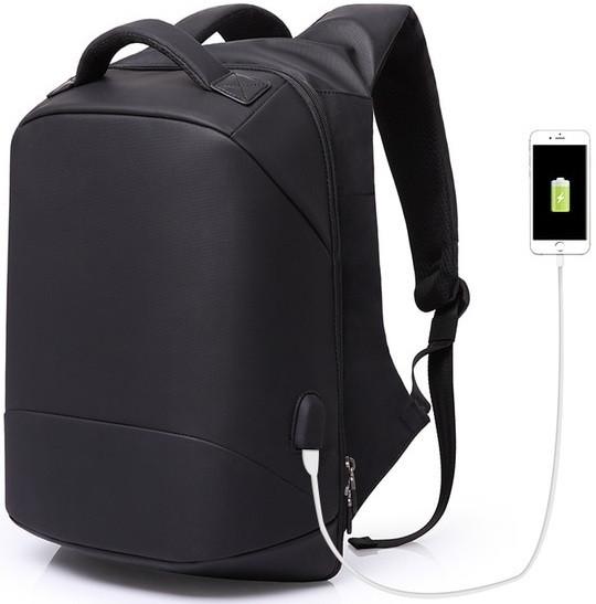 """Современный городской рюкзак-антивор Kaka 2248, с USB портом для ноутбука до 15,6"""", 24л"""