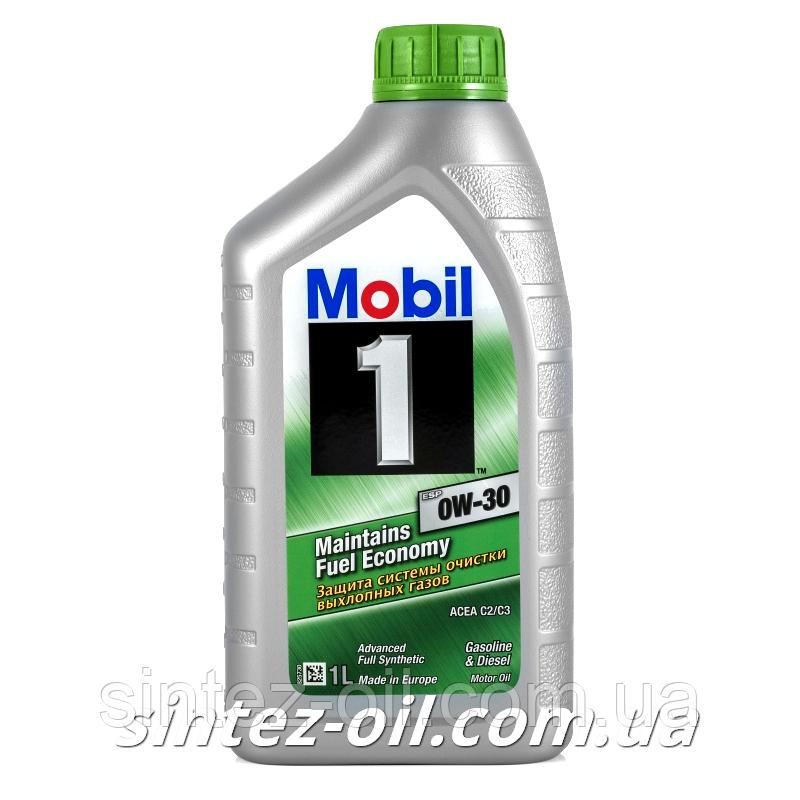 Моторное масло Mobil 1 ESP 0W-30 (1л)
