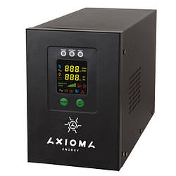 Гибридный ИБП+стабилизатор 800ВА (500Вт), 12В + MPPT контроллер 20А 12В, AXEN.IS-800, AXIOMA energy