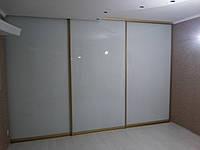 Шкаф-купе большой белое стекло, фото 1