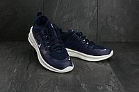 Кроссовки A 1868-4 (Nike Air) (весна-осень, мужские, резина, сине-белый)