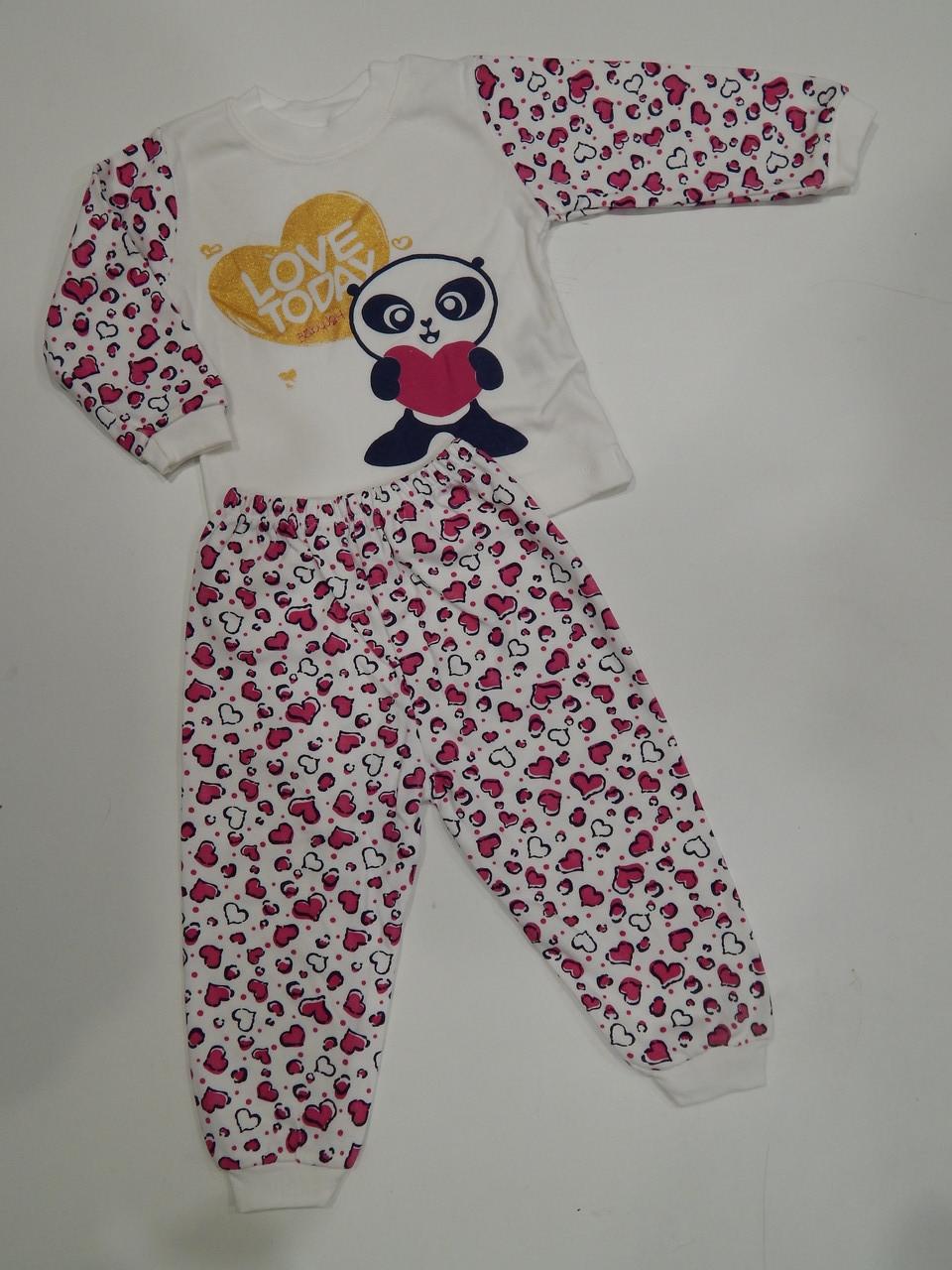 Пижама для девочки игтерлок р.86-98 Пр-во Турция