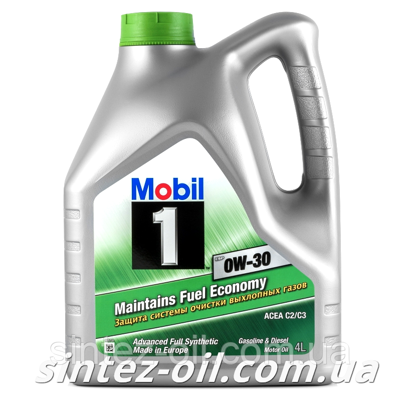 Моторное масло Mobil 1 ESP 0W-30 (4л)