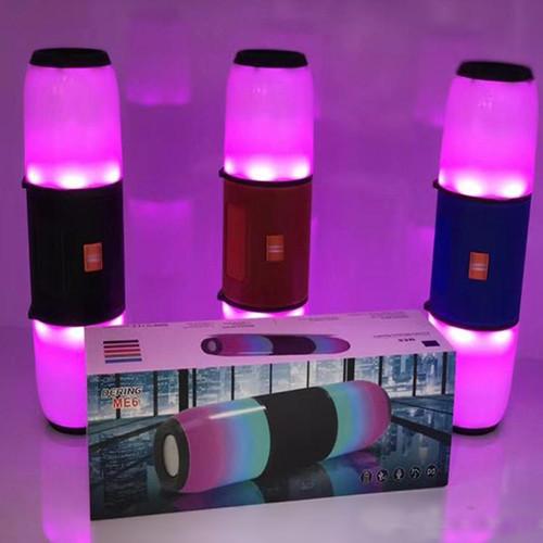 """Bluetooth-Колонки JBL DERING ME6 c підсвічуванням,""""репліка"""" PowerBank, радіо, speakerphone"""