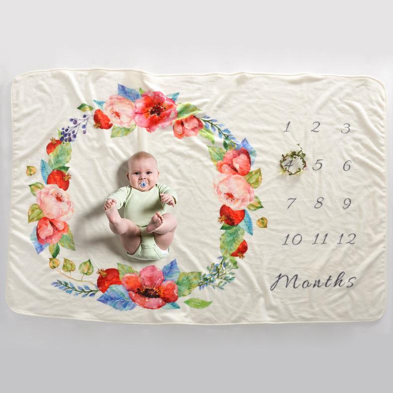 Детское покрывало-метрика MAX 5в1 - Цветы