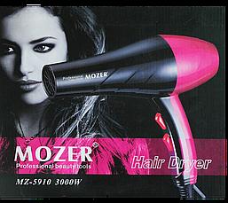 Професійний Фен для укладання волосся з насадкою MOZER MZ-5910, потужність 3000W, 3 температурних режими CG23, фото 3