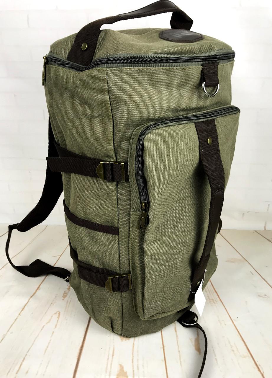 729640442a7b Рюкзак мужской. Дорожный, вместительный рюкзак. Сумка-рюкзак с холста.