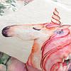 Детское покрывало-метрика MAX 5в1 - Единорог и цветы, фото 2