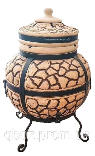 Тандыр Булыжник модель №3 (совок,кочерга)