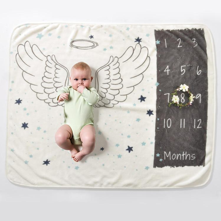 Детское покрывало-метрика 5в1 - Крылья