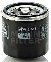 Масляный фильтр на мотоцикл HONDA ( CB , CBF , CBR , XL , VTR , VT , NV , VFR , VF , ST , NT ) MANN MW 64/1