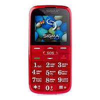 Мобільний телефон Sigma Comfort 50 Slim 2 Red Sigma mobile Comfort 50 SLIM2 Red Red