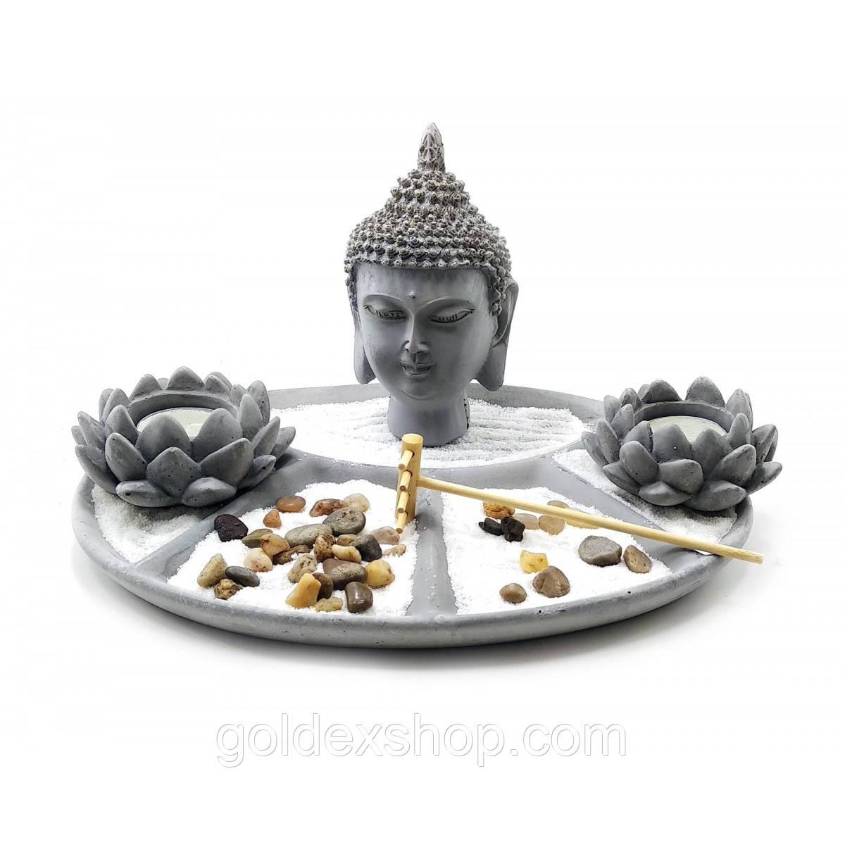 "Сад камней ""Будда"" (Сад дзен) (27,5х21,5х17 см)"