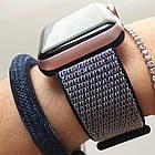 Ремешок New Generation для Apple Watch Series 1 Sport Loop 42 mm Midnight Blue 100646, КОД: 178600, фото 4