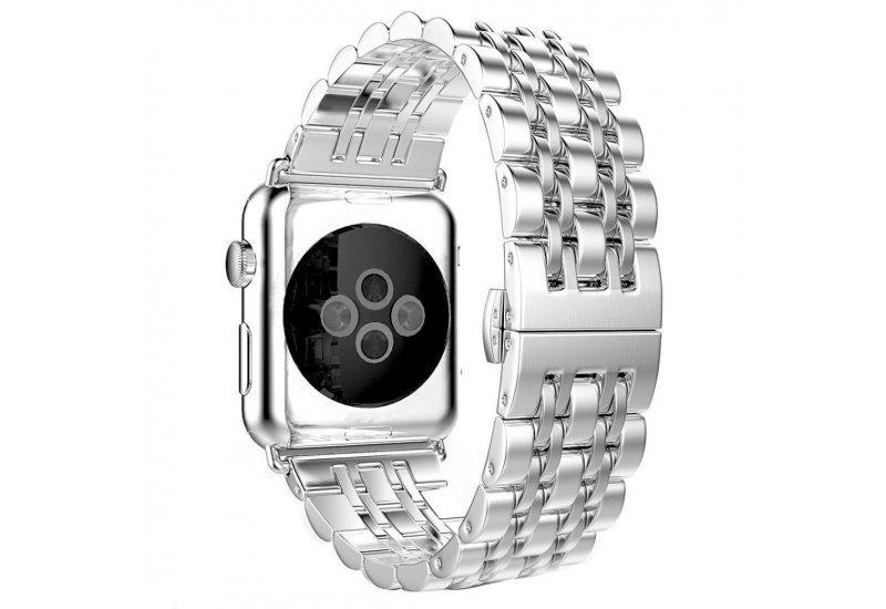Браслет Grand Steel Watch Band for Apple Watch 42mm Silver AL99942mm, КОД: 178662