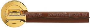 Ручка дверная на розетке Linea Cali ELLE PELLE