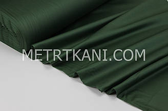 Сатин  премиум, зеленого цвета ширина 240 см № ПС-0053