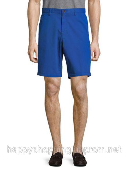 Мужские летние хлопковые синие шорты Michael Kors