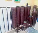 Двухстенные дымоходные трубы (сэндвич-трубы) AISI 430 (жаростойкая сталь) диаметр от 100 до 600 мм