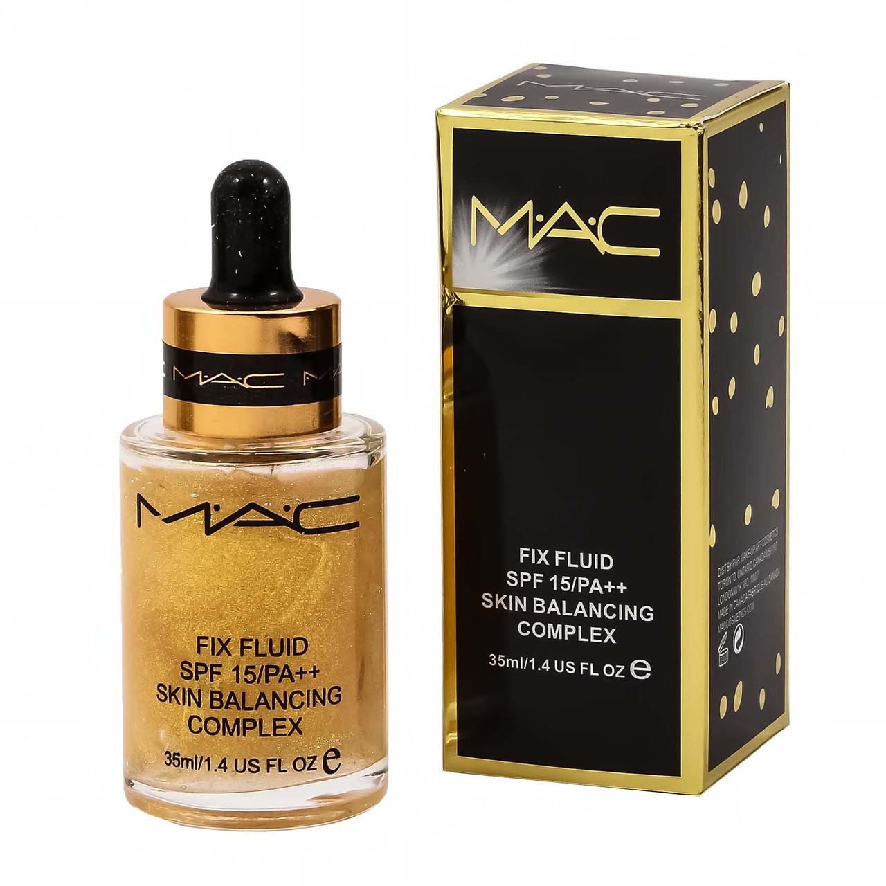 Масло-основа під макіяж MAC Serum Fix Fluid spf 15+, Skin Balancing Complex