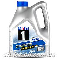 Моторне масло Mobil 1 FS 5W-50 (4л)