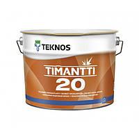 Полуматовая краска для внутренних работ Teknos Timantti 20 9 л